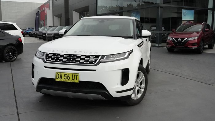 2019 Land Rover Range Rover Evoque P200 S L551 MY20 4X4 Constant Fuji White