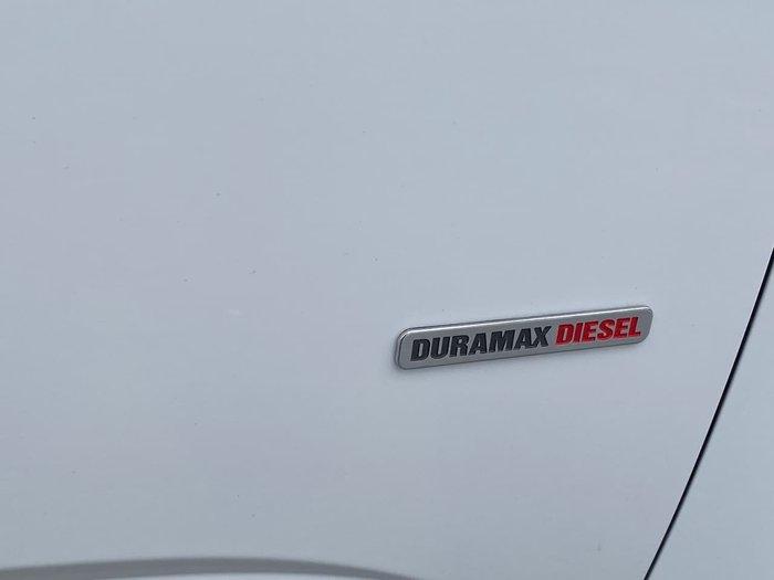 2017 Holden Colorado Storm RG MY18 4X4 Dual Range White