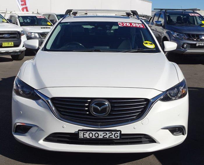 2015 Mazda 6 Atenza GJ Series 2 White