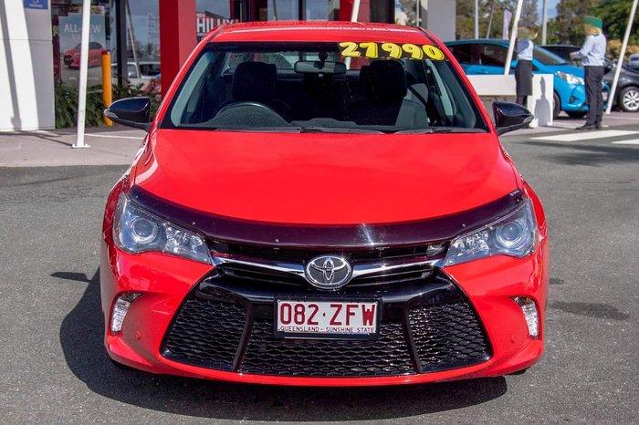 2017 Toyota Camry RZ ASV50R Red