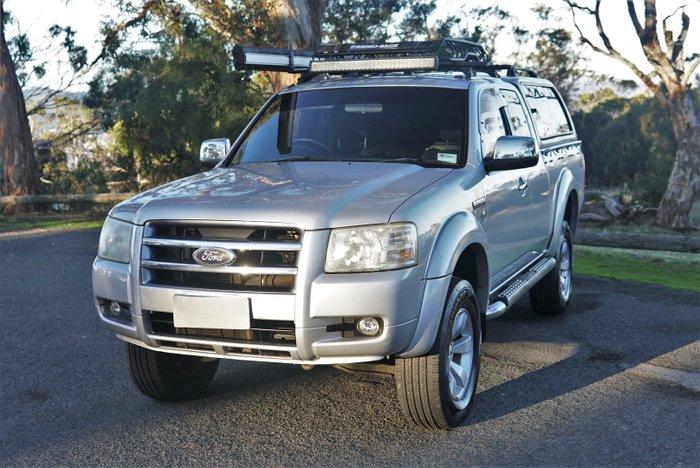 2008 Ford Ranger XLT PJ 4X4 Dual Range Silver Metallic