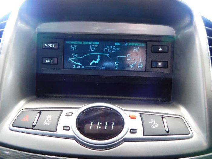 2013 Holden Captiva 7 CX CG MY13 AWD Grey