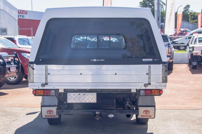 2008 Toyota Hilux Workmate TGN16R MY08 Glacier White