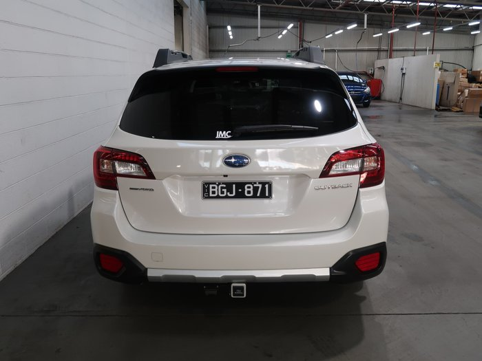 2020 Subaru Outback 3.6R 5GEN MY20 AWD Crystal White