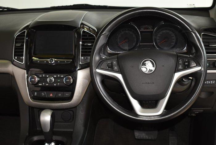 2017 Holden Captiva LTZ CG MY18 AWD Nitrate Silver