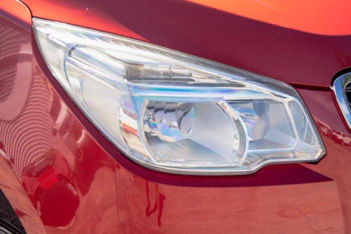 2013 Holden Colorado LX RG MY14 4X4 Dual Range Red
