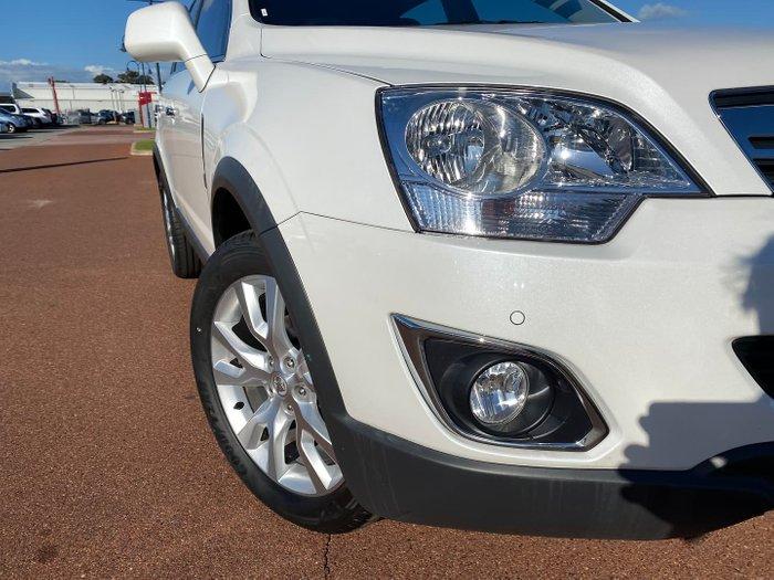 2013 Holden Captiva 5 LTZ CG MY14 AWD Snowflake White