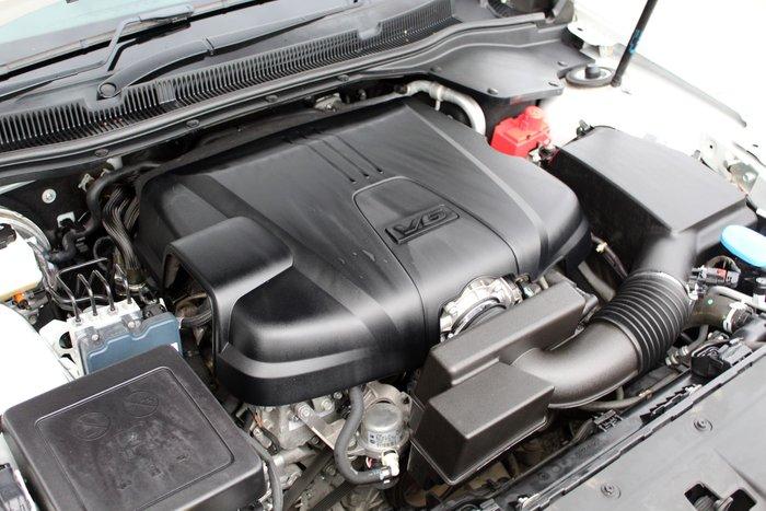 2015 Holden Commodore SV6 VF MY15 Heron White