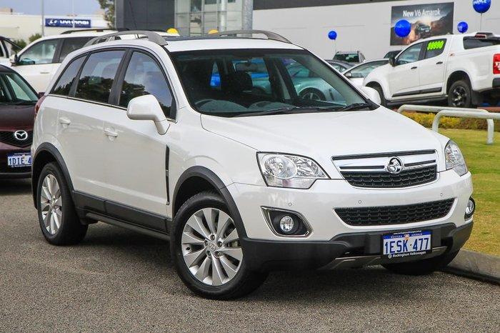 2015 Holden Captiva 5 LT CG MY15 White
