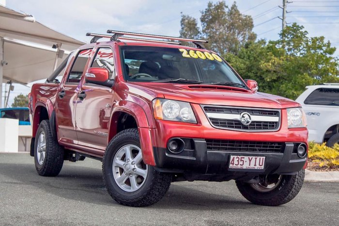 2011 Holden Colorado LX RC MY11 4X4 Red