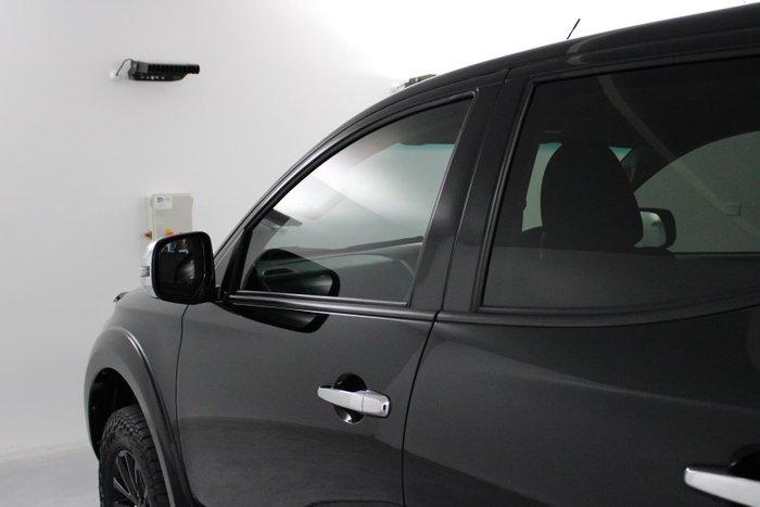 2017 Mitsubishi Triton GLS Sports Edition MQ MY17 4X4 Dual Range Black