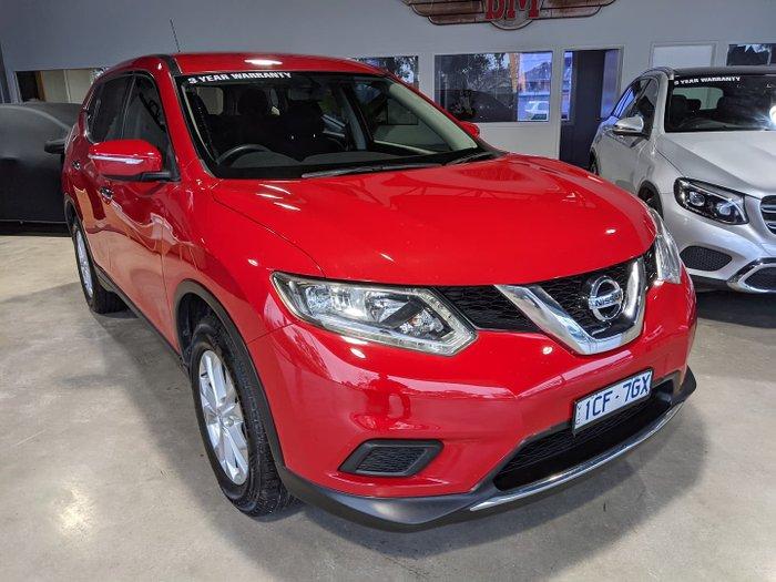 2014 Nissan X-TRAIL ST T32 4X4 On Demand Burning Red