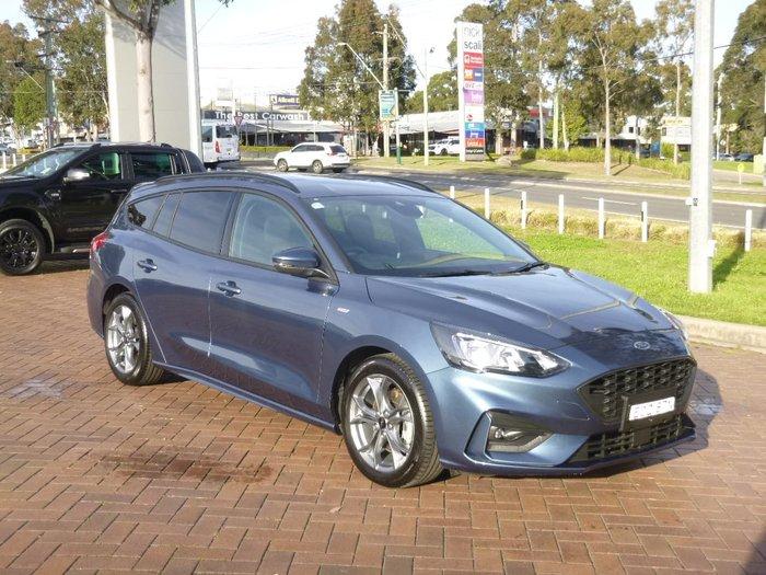2019 Ford Focus ST-Line SA MY20.25 Blue