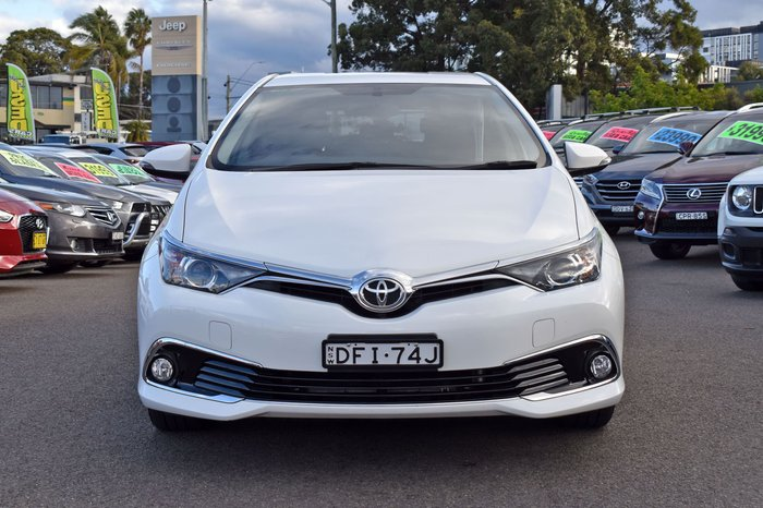 2016 Toyota Corolla Ascent Sport ZRE182R Crystal Pearl