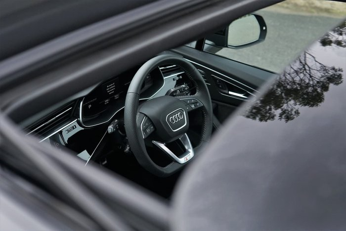 2020 Audi SQ7 TDI 4M MY20 Four Wheel Drive Black