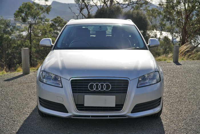 2009 Audi A3 TFSI Attraction 8P MY09 Silver