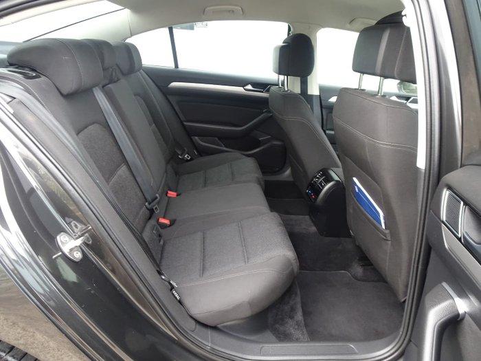 2018 Volkswagen Passat 132TSI B8 MY18 Manganese Grey
