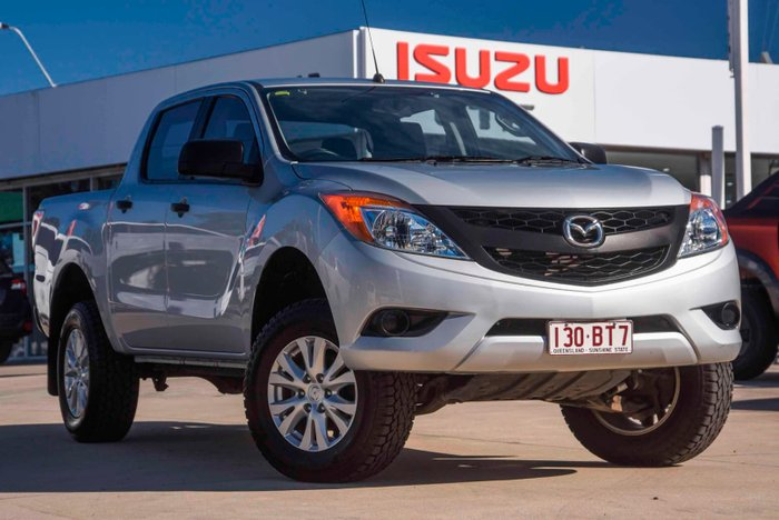 2015 Mazda BT-50 XT Hi-Rider UP Highlight Silver