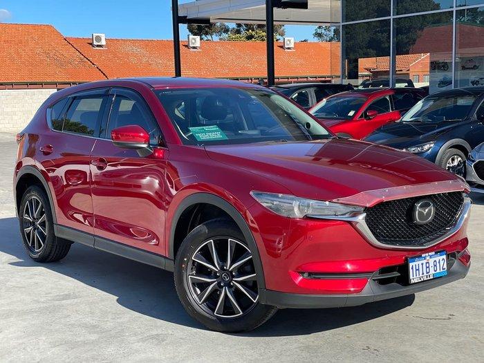 2017 Mazda CX-5 Akera KF Series AWD Red