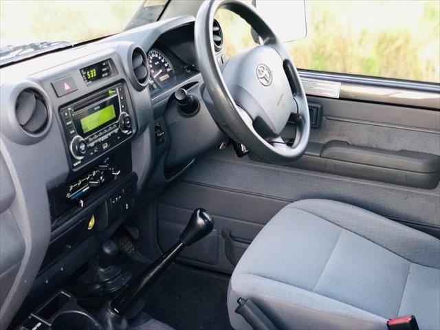 2017 Toyota Landcruiser GXL VDJ79R 4X4 Dual Range Grey