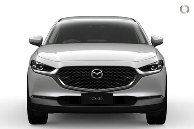 2021 Mazda CX-30 G25 Touring DM Series AWD Snowflake White Pearl