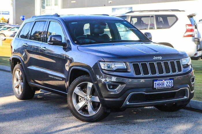 2014 Jeep Grand Cherokee Limited WK MY14 4X4 Dual Range Grey