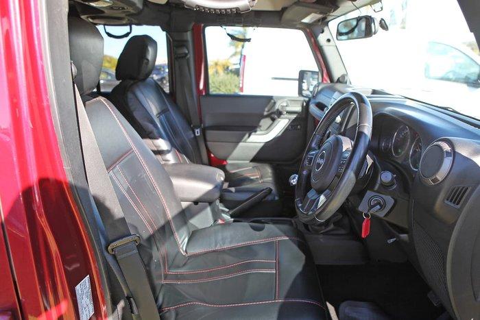 2011 Jeep Wrangler Unlimited Sport JK MY10 4X4 Red