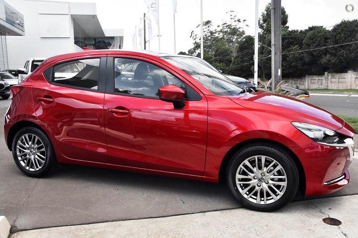 2020 Mazda 2 G15 Evolve DJ Series Red