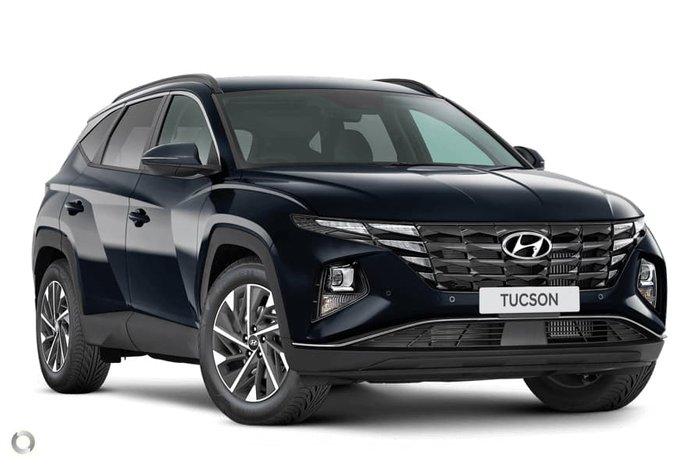 2021 Hyundai Tucson Elite NX4.V1 MY22 Deep Sea
