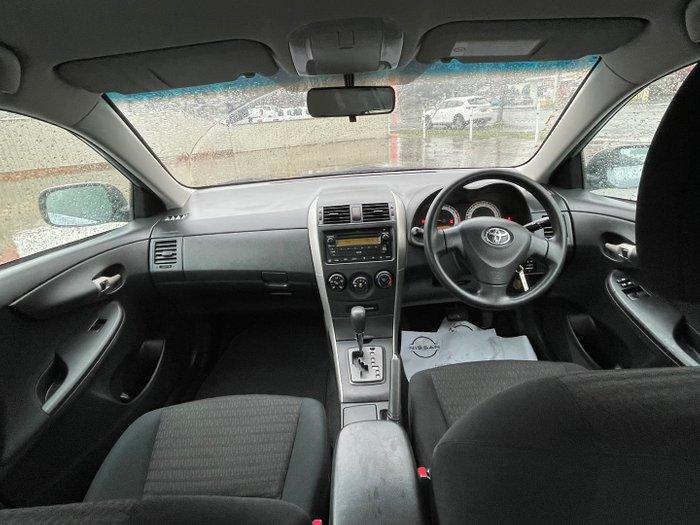 2009 Toyota Corolla Ascent ZRE152R Blue