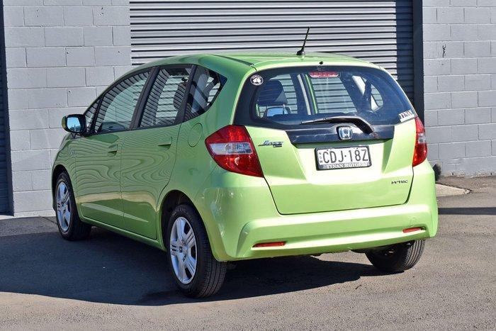 2011 Honda Jazz GLi GE MY11 fresh lime green