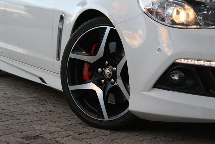 2013 Holden Special Vehicles Maloo GEN-F MY14 Heron White
