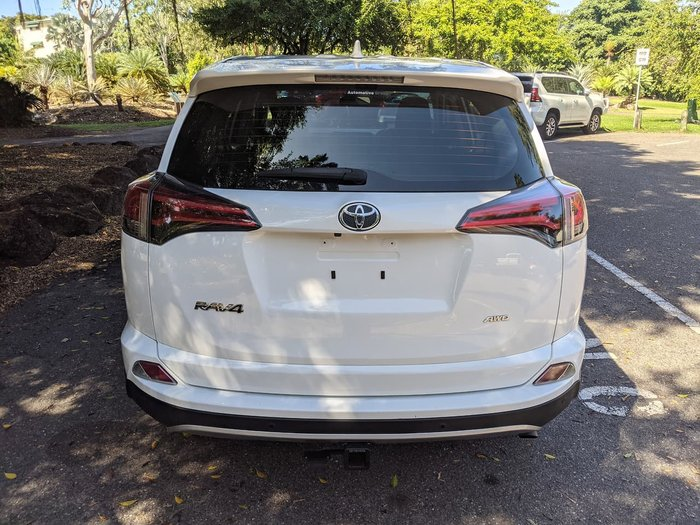 2018 Toyota RAV4 GX ALA49R AWD White
