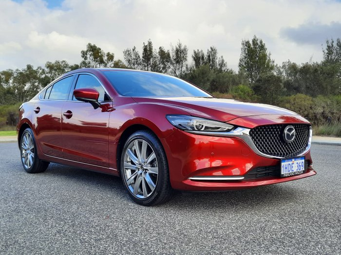2020 Mazda 6 GT GL Series Soul Red Crystal