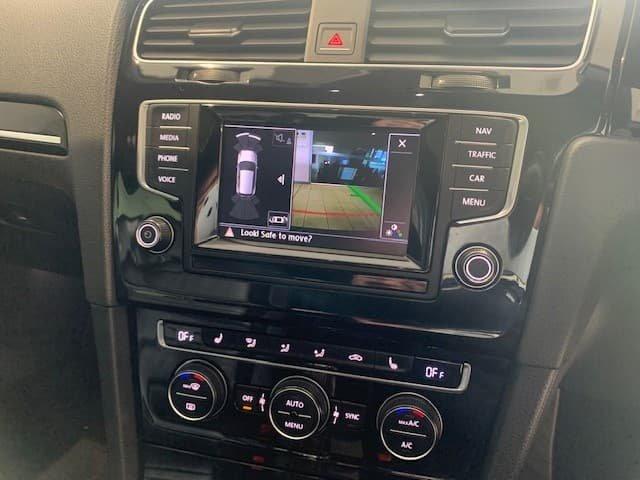 2014 Volkswagen Golf R 7 MY15 Four Wheel Drive Deep Black