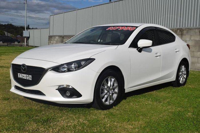 2014 Mazda 3 Maxx BM Series Snowflake White Pearl
