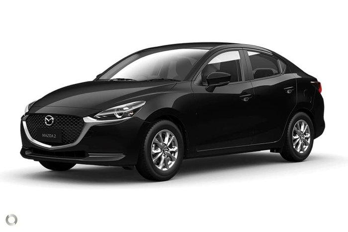 2021 Mazda 2 G15 Pure DL Series Jet Black