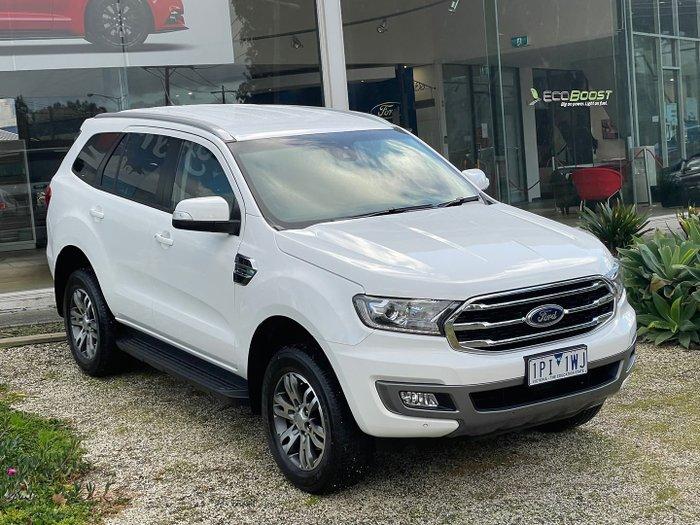 2019 Ford Everest Trend UA II MY19 4X4 Dual Range Arctic White