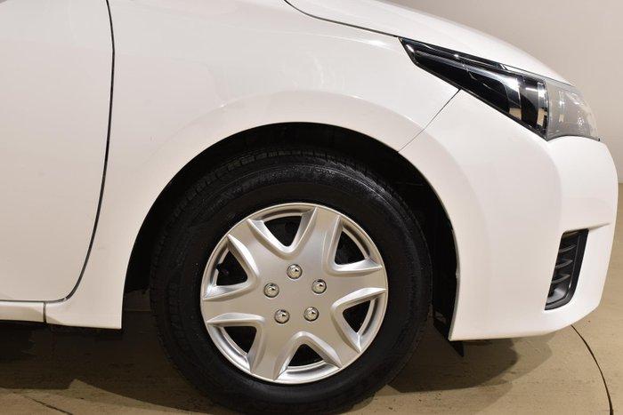 2015 Toyota Corolla Ascent ZRE172R Glacier White