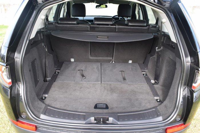 2017 Land Rover Discovery Sport TD4 110kW SE L550 MY18 4X4 Constant Santorini Black