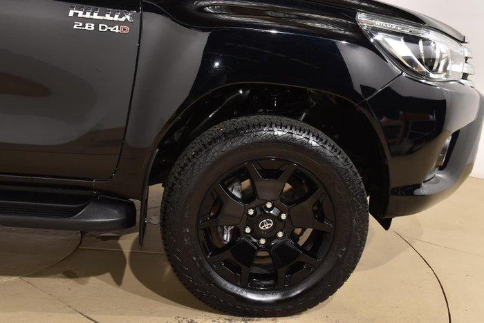 2016 Toyota Hilux SR5 GUN126R 4X4 Dual Range Eclipse Black
