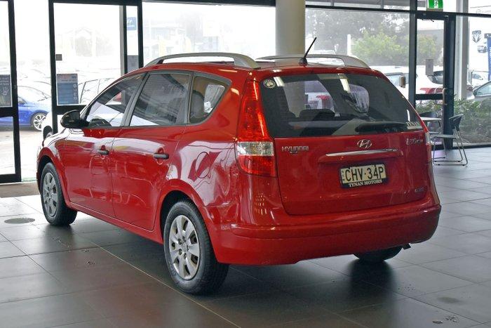 2012 Hyundai i30 SX FD MY11 Shine Red
