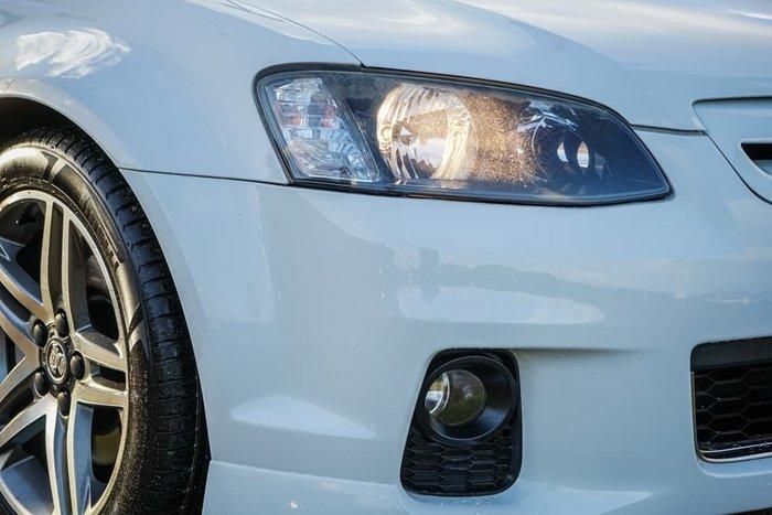 2012 Holden Ute SS VE Series II MY12 Heron White
