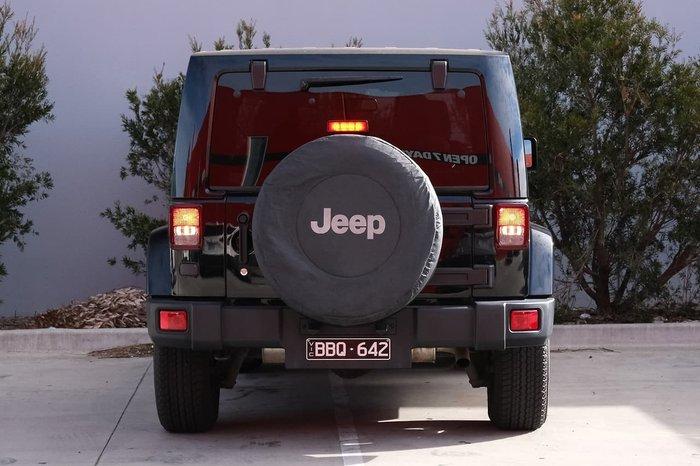 2018 Jeep Wrangler Overland JK MY18 4X4 Dual Range Black