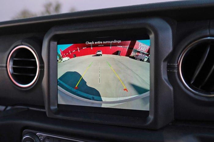2020 Jeep Wrangler Unlimited Overland JL MY20 4X4 Dual Range White
