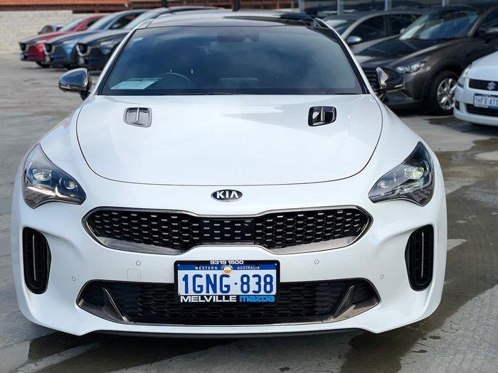 2018 Kia Stinger GT CK MY19 White