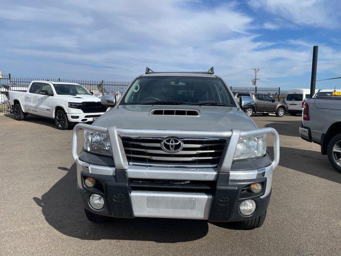 2013 Toyota Hilux SR5 KUN26R MY14 4X4 Sterling Silver
