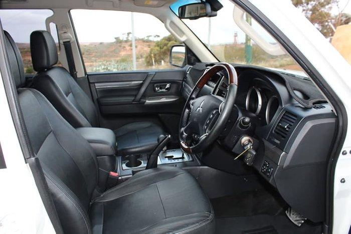 2015 Mitsubishi Pajero Exceed NX MY16 4X4 Dual Range White