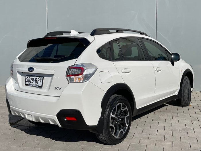 2017 Subaru XV 2.0i Special Edition G4X MY17 AWD Crystal White