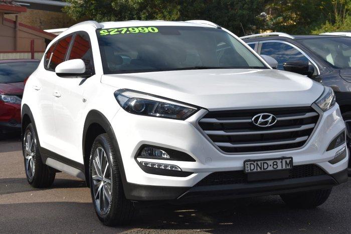 2017 Hyundai Tucson Active X TL MY18 Pure White